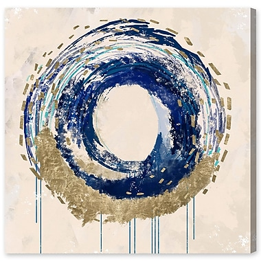 Willa Arlo Interiors 'Circular Movement' Painting Print on Wrapped Canvas; 30'' H x 30'' W x 1.5'' D