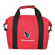 Team Pro-Mark 12 Can NFL Soft-Sided Tote Cooler; Houston Texans