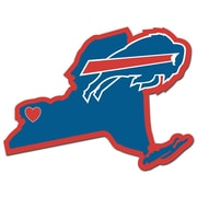 Team Pro-Mark NFL Home State Decal; Buffalo Bills Home