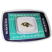 Team Pro-Mark NFL Chip and Dip Platter; Baltimore Ravens