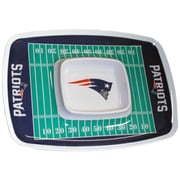 Team Pro-Mark NFL Chip and Dip Platter; New England Patriots