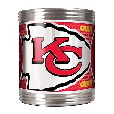 Team Pro-Mark NFL Stainless Steel Can Holder; Kansas City Chiefs