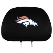 Team Pro-Mark NFL Headrest Cover (Set of 2); Denver Broncos