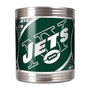 Team Pro-Mark NFL Stainless Steel Can Holder; New York Jets