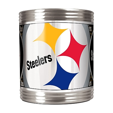 Team Pro-Mark NFL Stainless Steel Can Holder; Pittsburgh Steelers