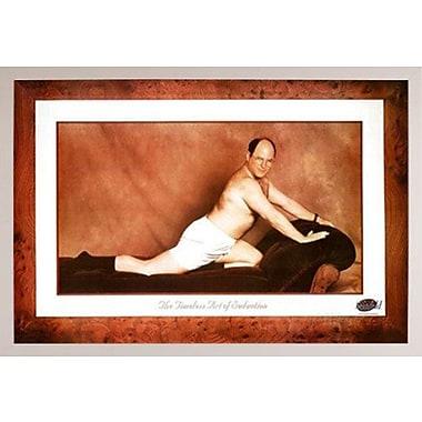 Frame USA 'Seinfeld-George Timeless Art Of Seduction' Framed Graphic Art Print Poster; White Framed
