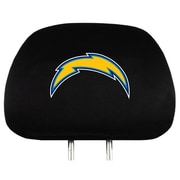 Team Pro-Mark NFL Headrest Cover (Set of 2); Los Angeles Chargers