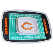 Team Pro-Mark NFL Chip and Dip Platter; Chicago Bears