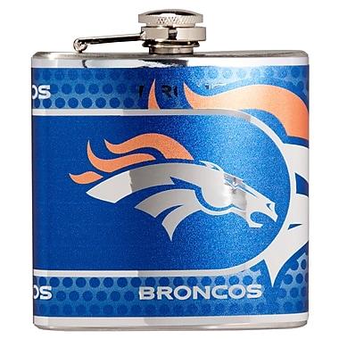 Team Pro-Mark NFL Stainless Steel Flask; Denver Broncos