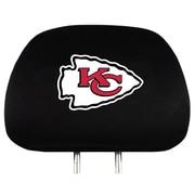 Team Pro-Mark NFL Headrest Cover (Set of 2); Kansas City Chiefs