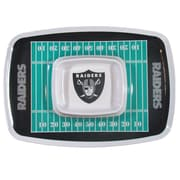 Team Pro-Mark NFL Chip and Dip Platter; Oakland Raiders