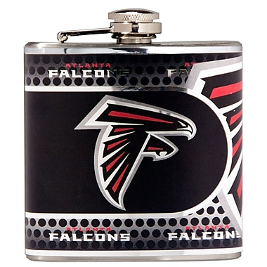 Team Pro-Mark NFL Stainless Steel Flask; Atlanta Falcons