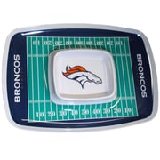 Team Pro-Mark NFL Chip and Dip Platter; Broncos