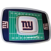 Team Pro-Mark NFL Chip and Dip Platter; New York Giants