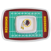 Team Pro-Mark NFL Chip and Dip Platter; Washington Redskins
