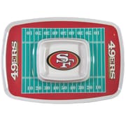 Team Pro-Mark NFL Chip and Dip Platter; San Francisco 49ers