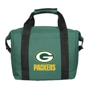 Team Pro-Mark 12 Can NFL Soft-Sided Tote Cooler; Green Bay Packers