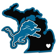 Team Pro-Mark NFL Home State Decal; Detroit Lions Home