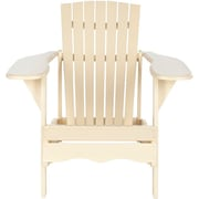 Gracie Oaks Willingboro Adirondack Chair; Off White