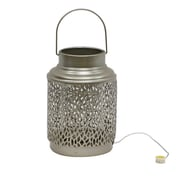 Bloomsbury Market Chastain Outdoor LED Lantern; Champagne