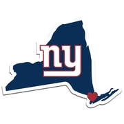 Team Pro-Mark NFL Home State Decal; New York Giants Home