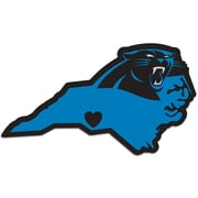 Team Pro-Mark NFL Home State Decal; Carolina Panthers Home