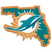 Team Pro-Mark NFL Home State Decal; Miami Dolphins Home