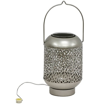 Bloomsbury Market Compton Outdoor LED Lantern; Champagne