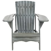 Gracie Oaks Willingboro Adirondack Chair; Ash Grey