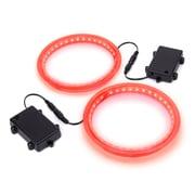 GoSports Cornhole LED Ring (Set of 2); Red