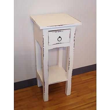 Darby Home Co Iyana End Table; White