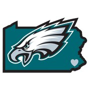 Team Pro-Mark NFL Home State Decal; Philadelphia Eagles Home