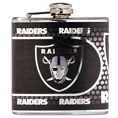 Team Pro-Mark NFL Stainless Steel Flask; Oakland Raiders