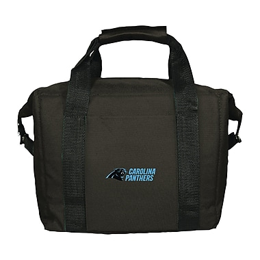 Team Pro-Mark 12 Can NFL Soft-Sided Tote Cooler; Carolina Panthers