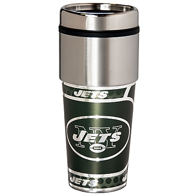 Team Pro-Mark NFL Stainless Steel Travel 16 oz. Insulated Tumbler; New York Jets WYF078281550062