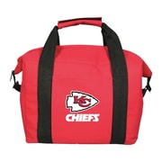 Team Pro-Mark 12 Can NFL Soft-Sided Tote Cooler; Kansas City Chiefs