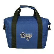 Team Pro-Mark 12 Can NFL Soft-Sided Tote Cooler; Los Angeles Rams