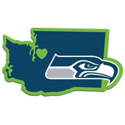 Team Pro-Mark NFL Home State Decal; Seahawks Football Home