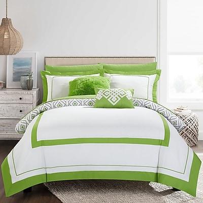 Mercer41 Angora 9 Piece Full Reversible Comforter