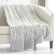Mercer41 Anglesey Throw Blanket; Gray