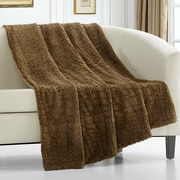 Mercer41 Anglesey Throw Blanket; Gold