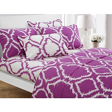 Varick Gallery Wallin 4 Piece Twin Sheet Set; Lavender