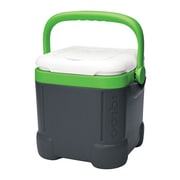 Igloo 12 Qt. Ice Cube Plastic Cooler; Gray/White/Nuclear Green by