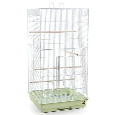 Prevue Hendryx Tiel Bird Cage w/ Handle; Sage green