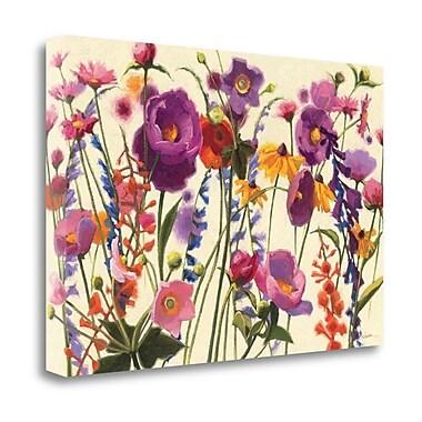 Tangletown Fine Art 'Couleur Printemps I' Print on Wrapped Canvas; 26'' H x 39'' W