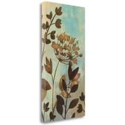 Tangletown Fine Art 'Enchanted Garden II' Print on Wrapped Canvas; 48'' H x 24'' W