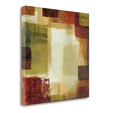 Tangletown Fine Art 'Earth and Fire II' Print on Wrapped Canvas; 20'' H x 20'' W