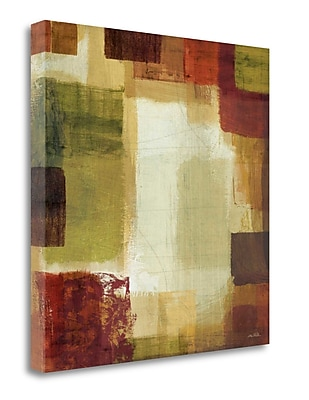 Tangletown Fine Art 'Earth and Fire II' Print on Wrapped Canvas; 30'' H x 30'' W