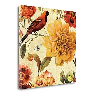 Tangletown Fine Art 'Rainbow Garden Spice II' Graphic Art Print on Canvas; 18'' H x 18'' W