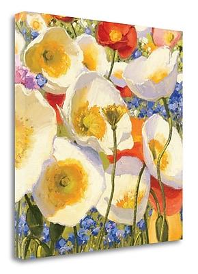 Tangletown Fine Art 'Sunny Abundance III' Print on Wrapped Canvas; 20'' H x 20'' W